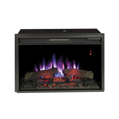 lowes electric fireplace insert shop 28 3125 in black electric fireplace insert at lowes