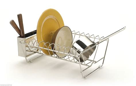 in sink dish rack rsvp dish drying rack drainer in sink stainless steel