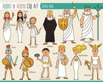 kaos zodiac gods clip color and outlines discover more