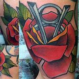 American Traditional Rose Tattoo For Men   600 x 600 jpeg 129kB