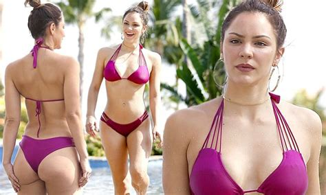 Katharine McPhee models bikini in Mexico   Daily Mail Online