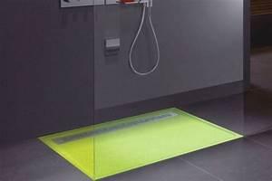 Bac A Douche Resine : receveur de douche couleur beton ~ Premium-room.com Idées de Décoration