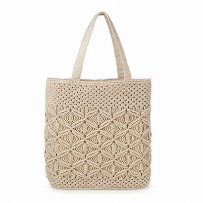 Macrame Bag Handmade Boho Cotton Handbag Bags