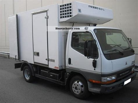 mitsubishi truck 2004 mitsubishi canter 2004 refrigerator body truck photo and specs