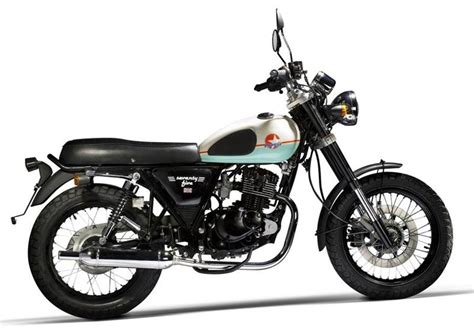 Chinese Motorcycle Mash 125 Seventy Five 2013