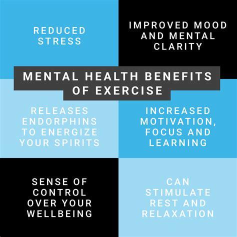 mental health benefits  exercise