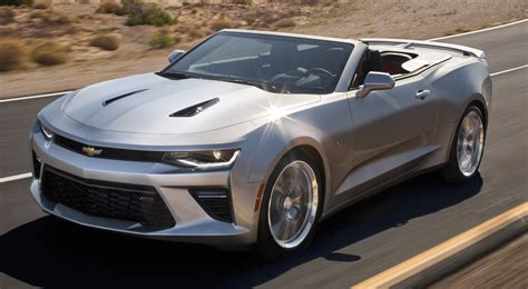 Convertible Camaro by Chevy Pulls The Lid On New 2016 Camaro Convertible