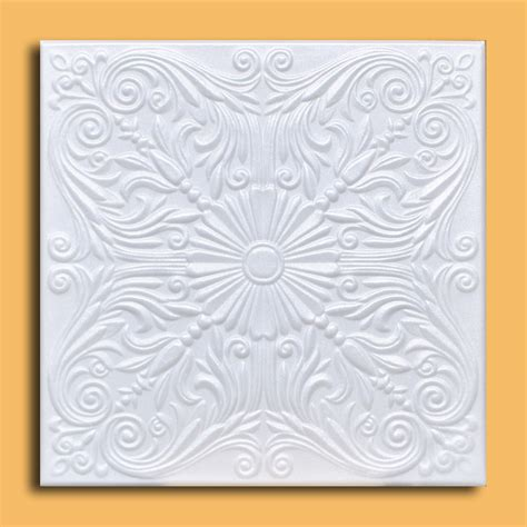 drop in or glue on universal 24 quot x24 quot pvc ceiling tile