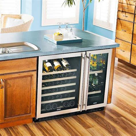 kitchen island wine fridge 17 best images about kitchen islands on 5193