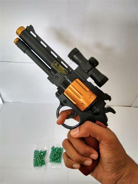 jual mainan pistol anak peluru plastik coboy editions with