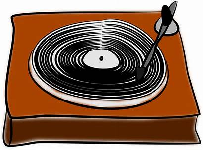Record Vinyl Clipart Records Turntable Disk Player