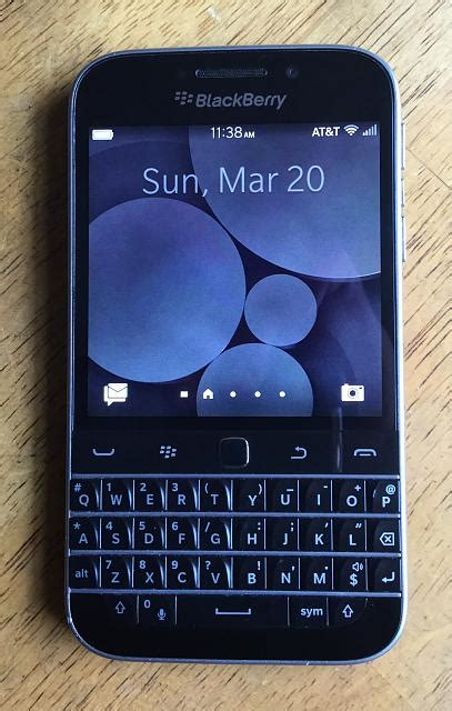 blackberry classic at t condition with sync pod blackberry forums at crackberry