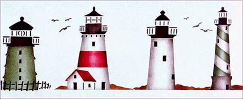 lighthouses stencil walltowallstencilscom