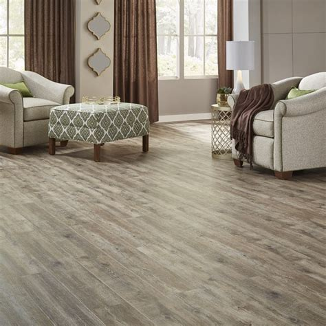 Wide Waterproof Wood Look Vinyl Plank Flooring 20mil Heavy