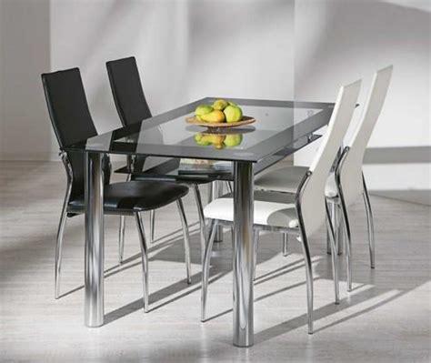 table de cuisine en verre table a manger en verre