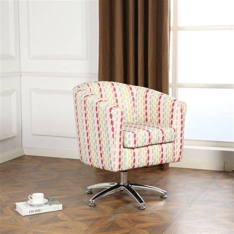 Swivel Tub Chair Fabric - fabric tub chairs designer twist fabric swivel tub chair