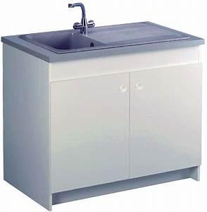 Bac A Graisse Sous Evier : meuble de cuisine avec evier inox top gallery of meuble ~ Dailycaller-alerts.com Idées de Décoration