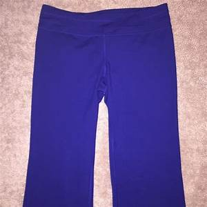 68% off Under Armour Pants - Under Armour Blue Workout Pants with Flare from Jenniferu0026#39;s closet ...