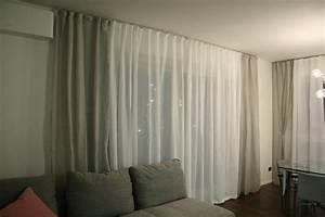 Tende per soggiorno bianche : Tende per interni moderne
