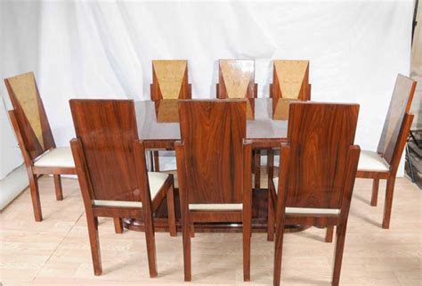 deco dining set table and chairs suite 1920s furniture