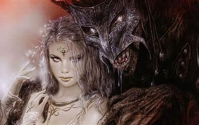 Demon Fantasy Royo Horror Dark Luis Monster