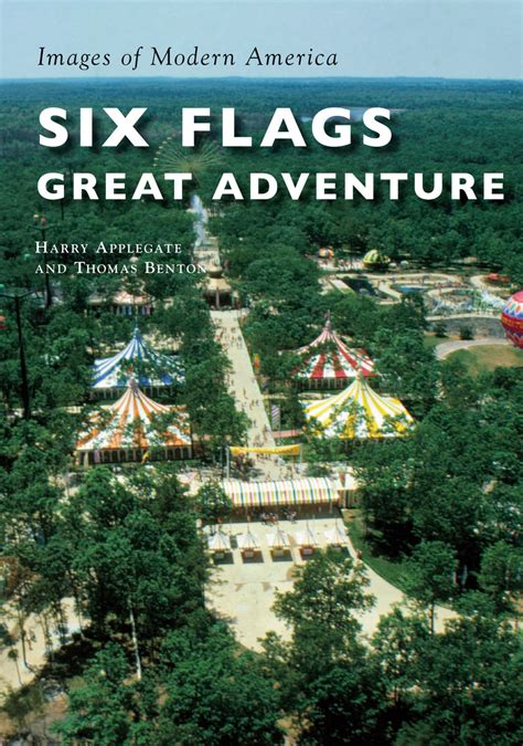 New! Images Of Modern America Six Flags Great Adventure