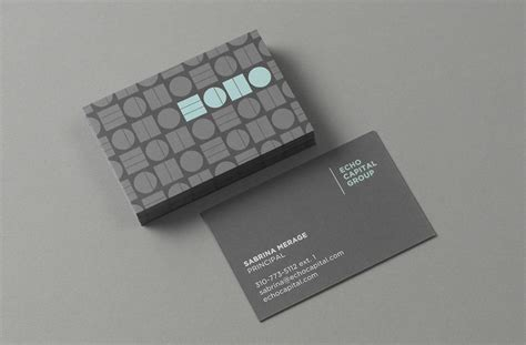 New Logo And Identity For Echo Capital By Trüf Business Cards Design Template Psd Own Quotes About Leadership Calendar For 2018 Provincetown Guild Card Holder Other People's Wooden