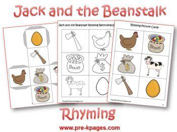 jack and the beanstalk literacy activities for pre k and kindergarten