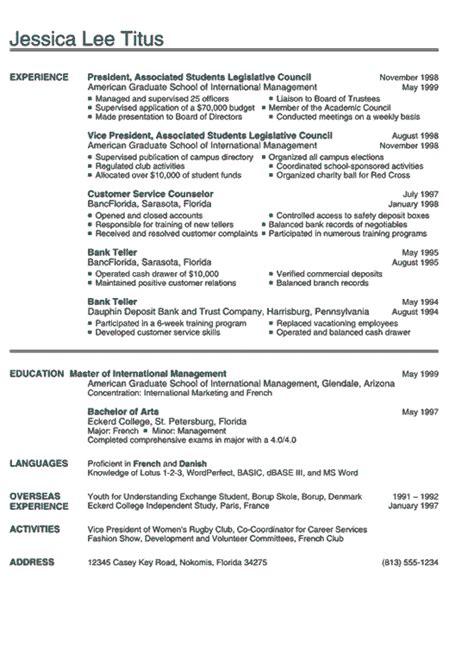 college grad resume template resume college graduate