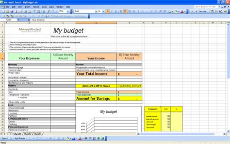 free finance spreadsheet 15 free personal budget spreadsheet excel spreadsheet