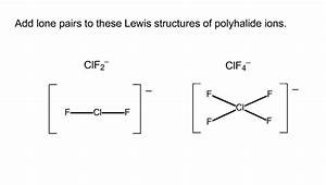 Solved  Add Lone Pairs To These Lewis Structures Of Polyha