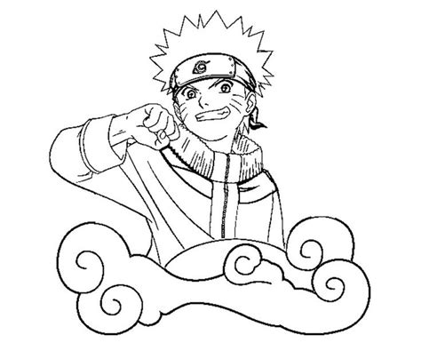 naruto coloring pages images  pinterest white