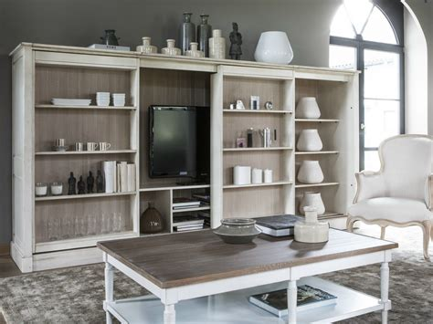 Tv Bookcases by Modulables Bookcase By Grange