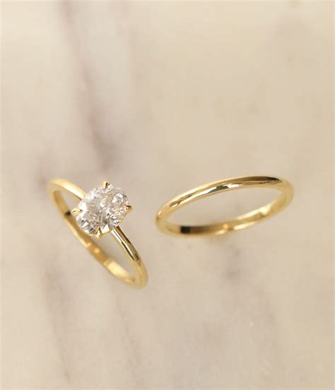 wedding ring vow sles vow vrai oro wedding modern oval engagement ring