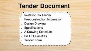Ici itd qs project 1 1pptx for Prepare tender documents
