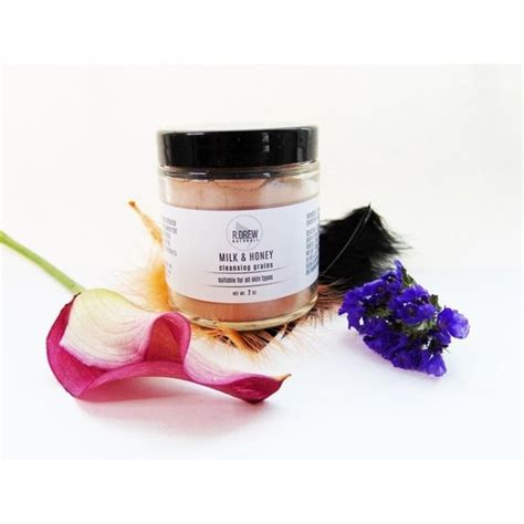 Mix together the milk, coffee, honey and lemon juice in a bowl. Shop Handmade Milk and Honey Facial Cleansing Grains ...