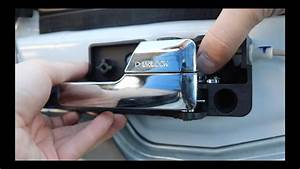 How-to  Replace Ford Fusion Door Handle  Easy