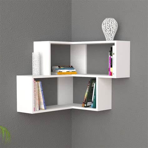 mensole design librerie angolari e mensole design moderno