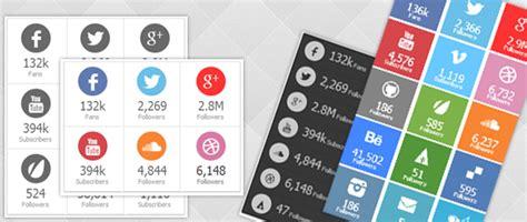 social followers counter plugins  wordpress