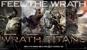 Feel The Wrath Of The New Posters of The Titans - HeyUGuys