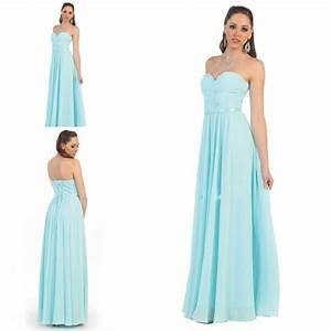 AQUA BRIDESMAID DRESSES - Yuman Dakren