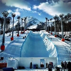 Sochi Freestyle Snowboarding
