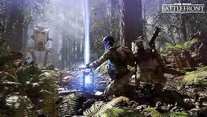 Endor Battlefront Wars Star Battle Leia Hipwallpaper