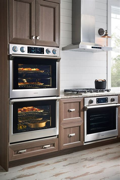 smart double wall oven  flex duo  stainless