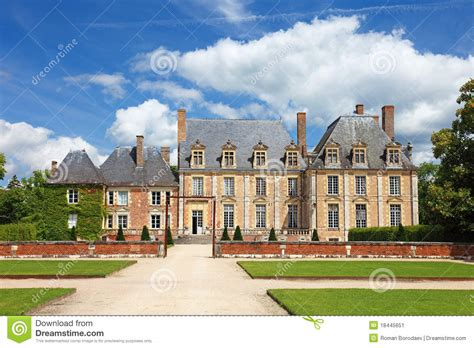 house plans for mansions mansion in stock image image 18445651
