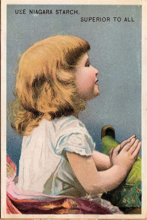 victorian advertising child praying  graphics fairy