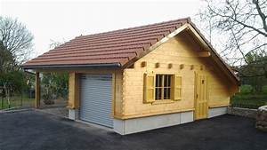 exceptionnel cout d un garage en bois 0 chalet de With cout d un garage en bois