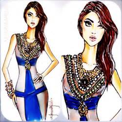 designer mode fashion sketch