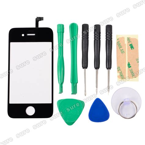 iphone 4s screen replacement kit digitizer front touch glass screen replacement repair for