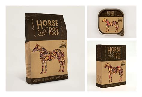 horse food dog graphis